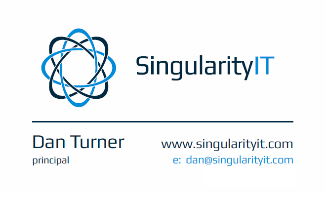 Singularity IT - Dan Turner (Principal Consultant)